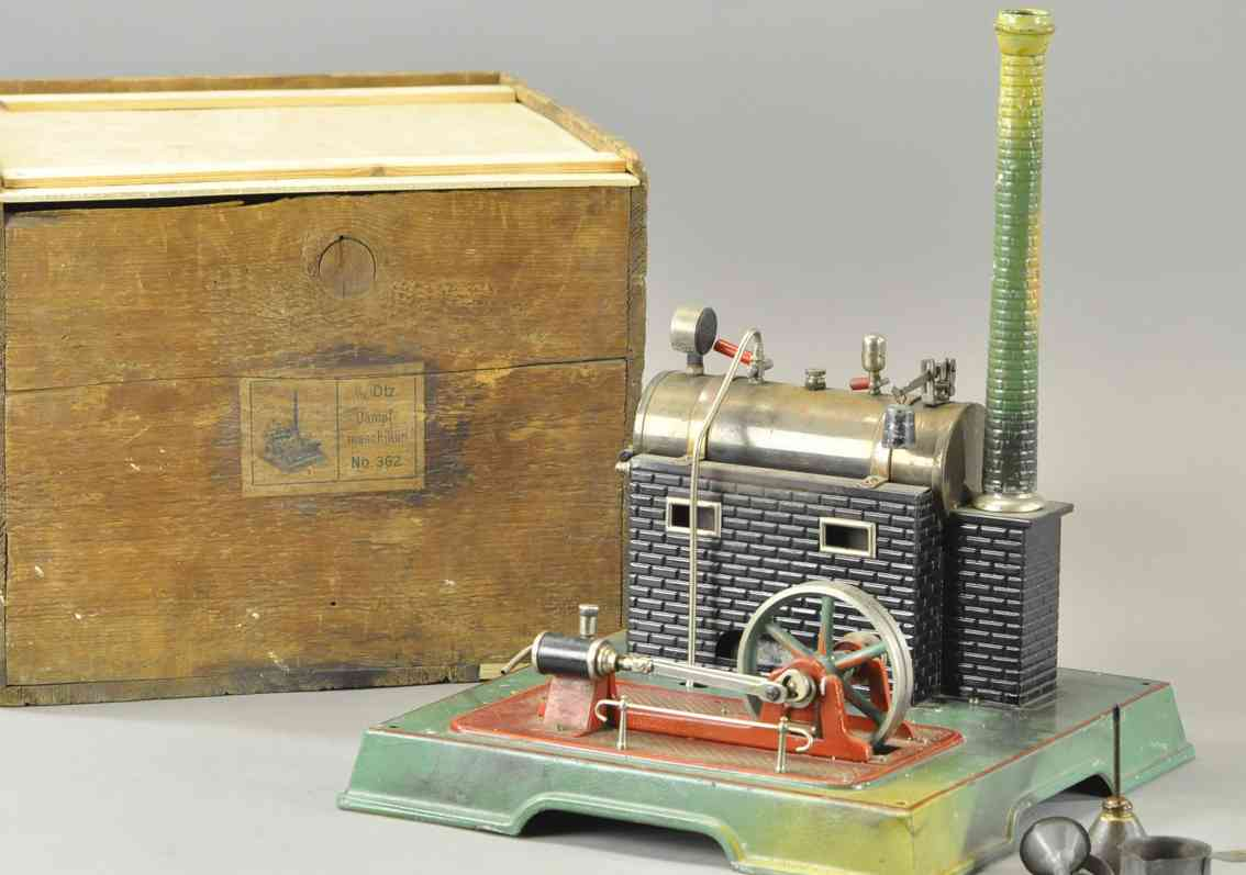 maerklin 4137/91 dampfspielzeug liegende dampfmaschine