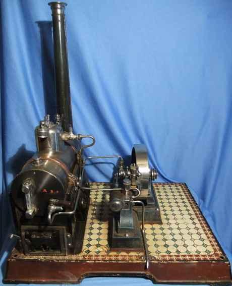 maerklin 4148/7 dampfspielzeug liegende dampfmaschine