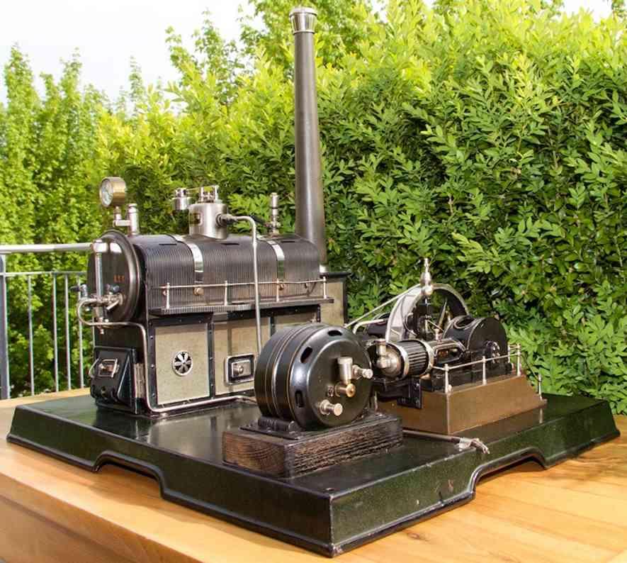 Märklin 4161/94/9 Liegende Zwillings-Dampfmaschine