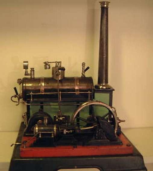 Märklin Liegende Dampfmaschine Modelldampfmaschine