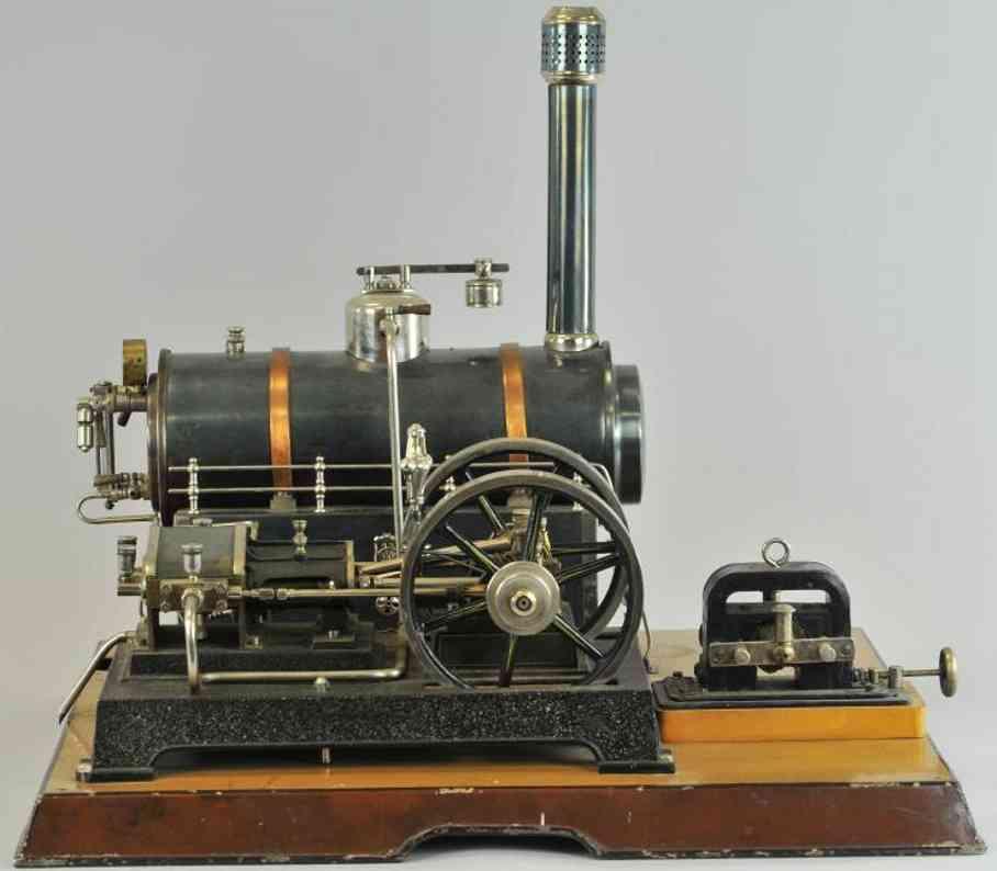 maerklin dampfspielzeug liegende dampfmaschine dampfmaschine, dynamo, zentrifuge, speisepumpe, üblicher zyl