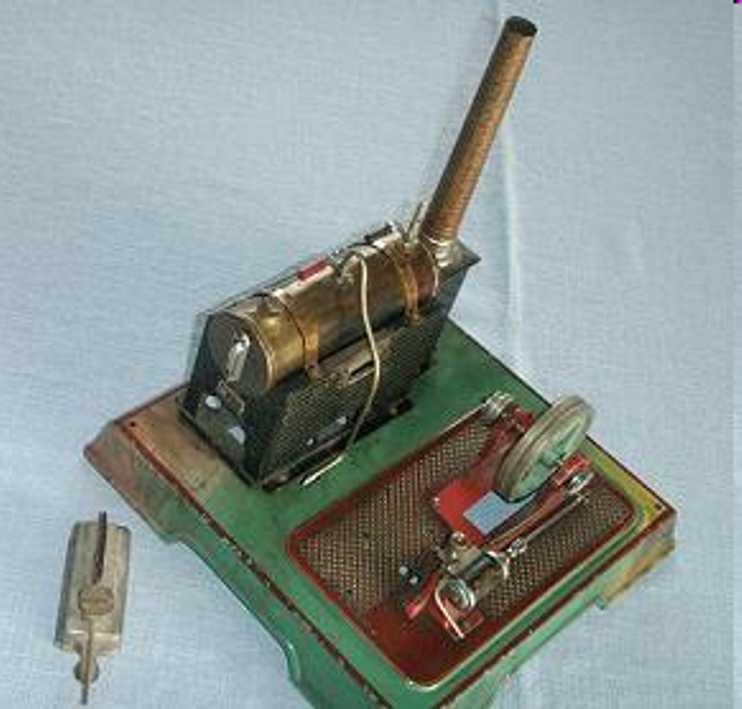 maerklin 4095/5 dampfspielzeug liegende dampfmaschine feststehender zylinder