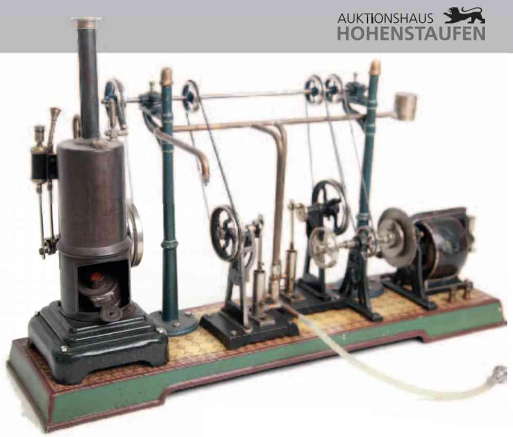 marklin maerklin steam toy factory pumping station with steam engine