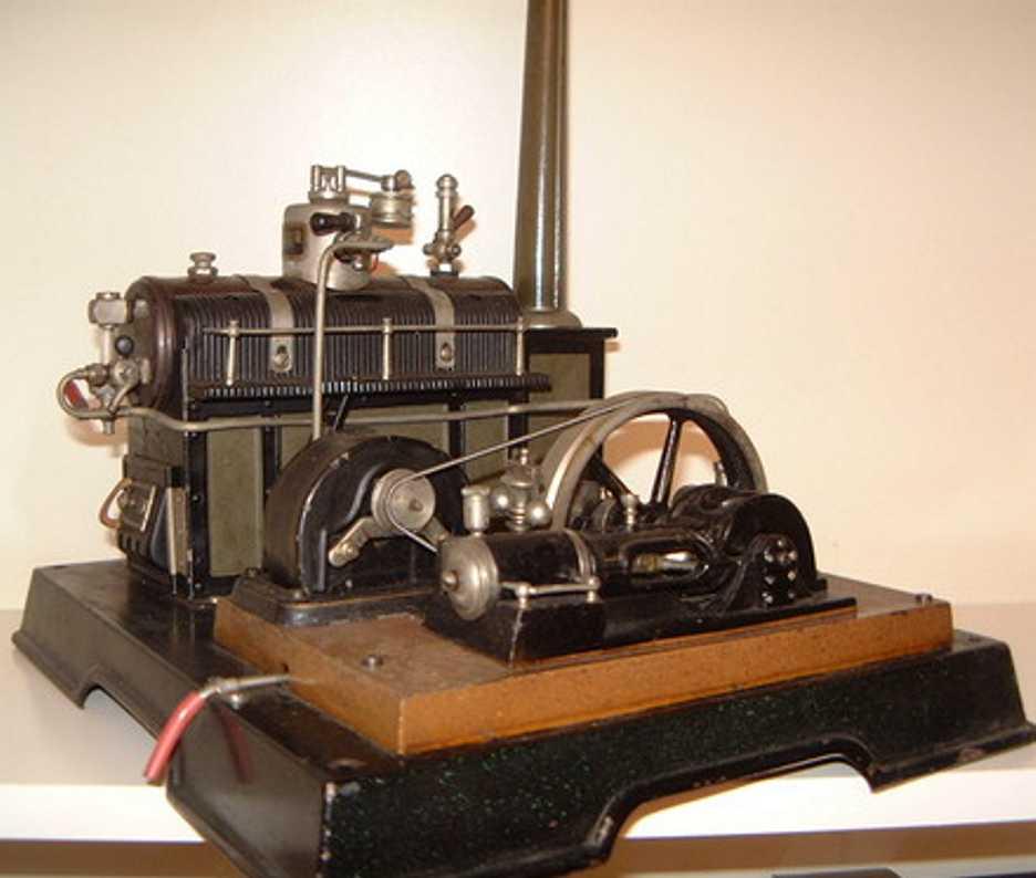 maerklin dampfspielzeug liegende dampfmaschine dampfmaschine kd 6 mit kesselummantelung fein handlackiert,