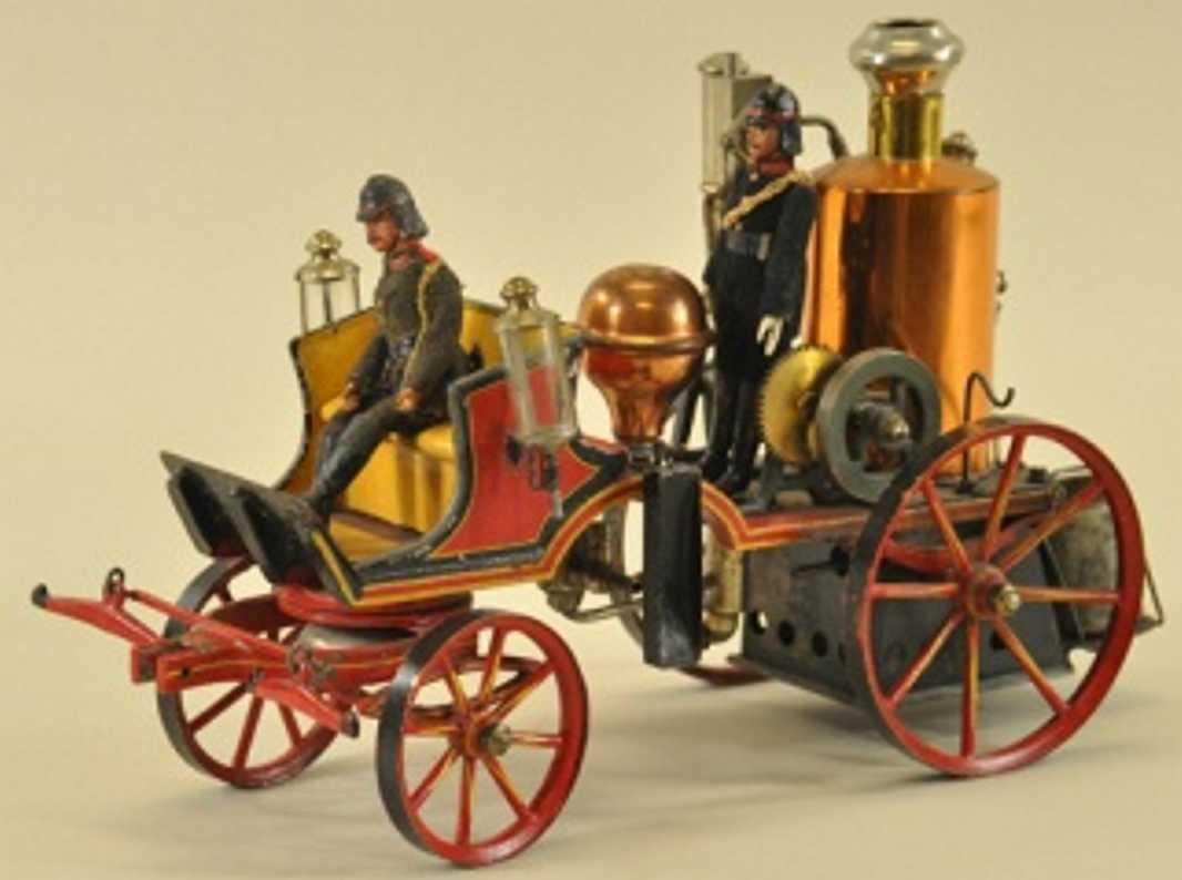 Märklin Dampfbetriebener Feuerwehrpumpenwagen