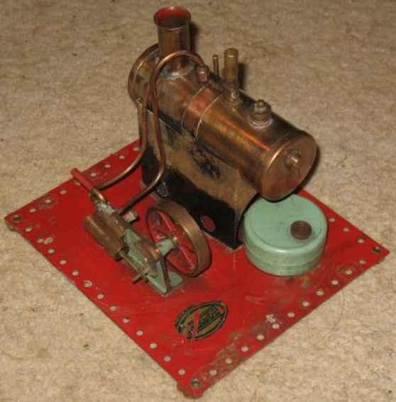 mamod se2 dampfspielzeug liegende dampfmaschine