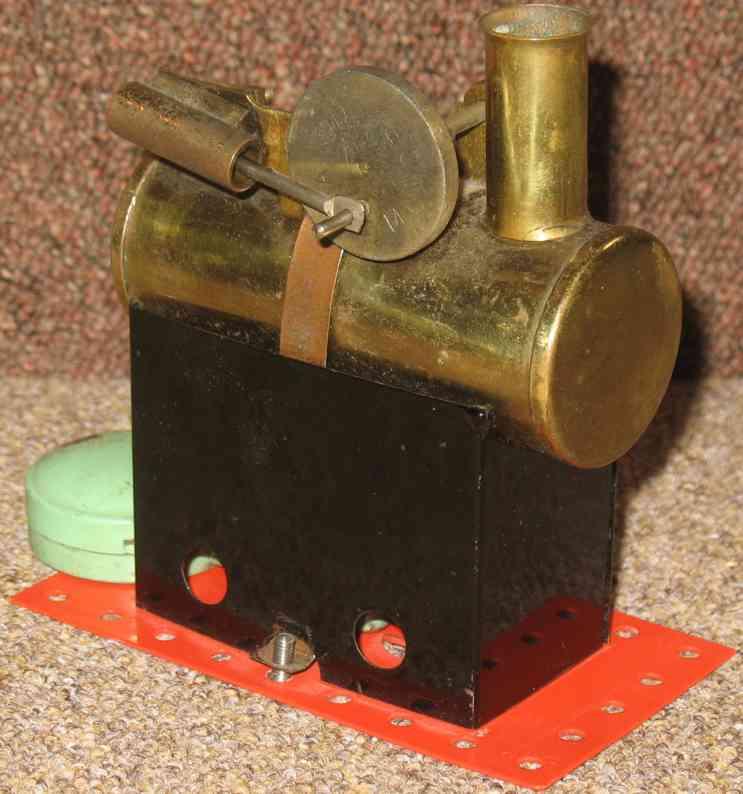 mamod minor 1 dampfspielzeug liegende dampfmaschine erste aus der serie