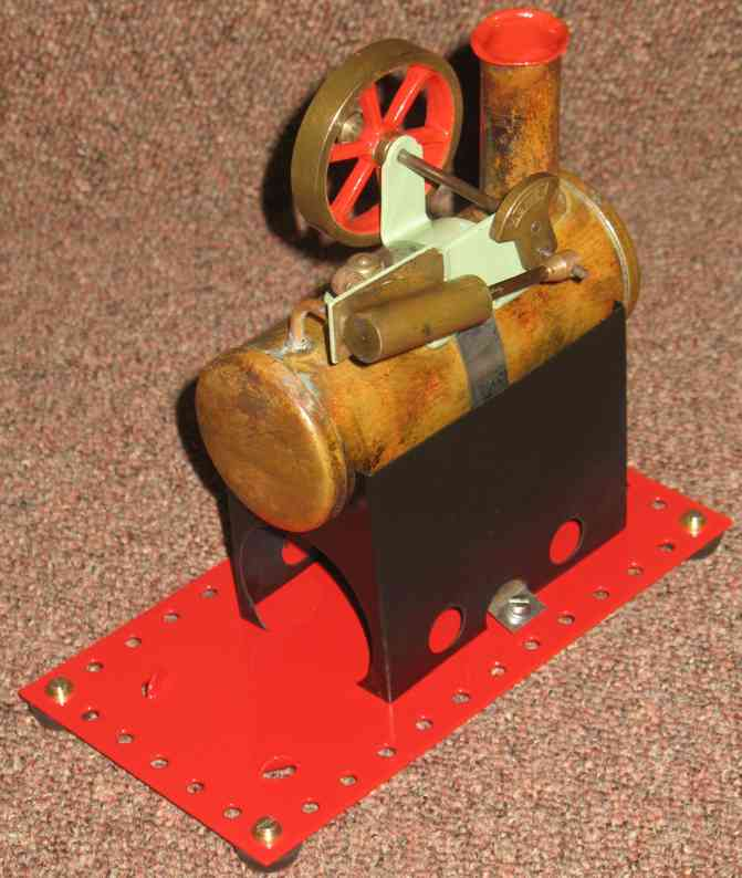 mamod minor 2 dampfspielzeug stationaere lokomobile