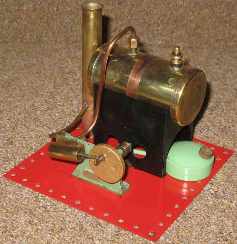 mamod se1 1946 dampfspielzeug liegende dampfmaschine