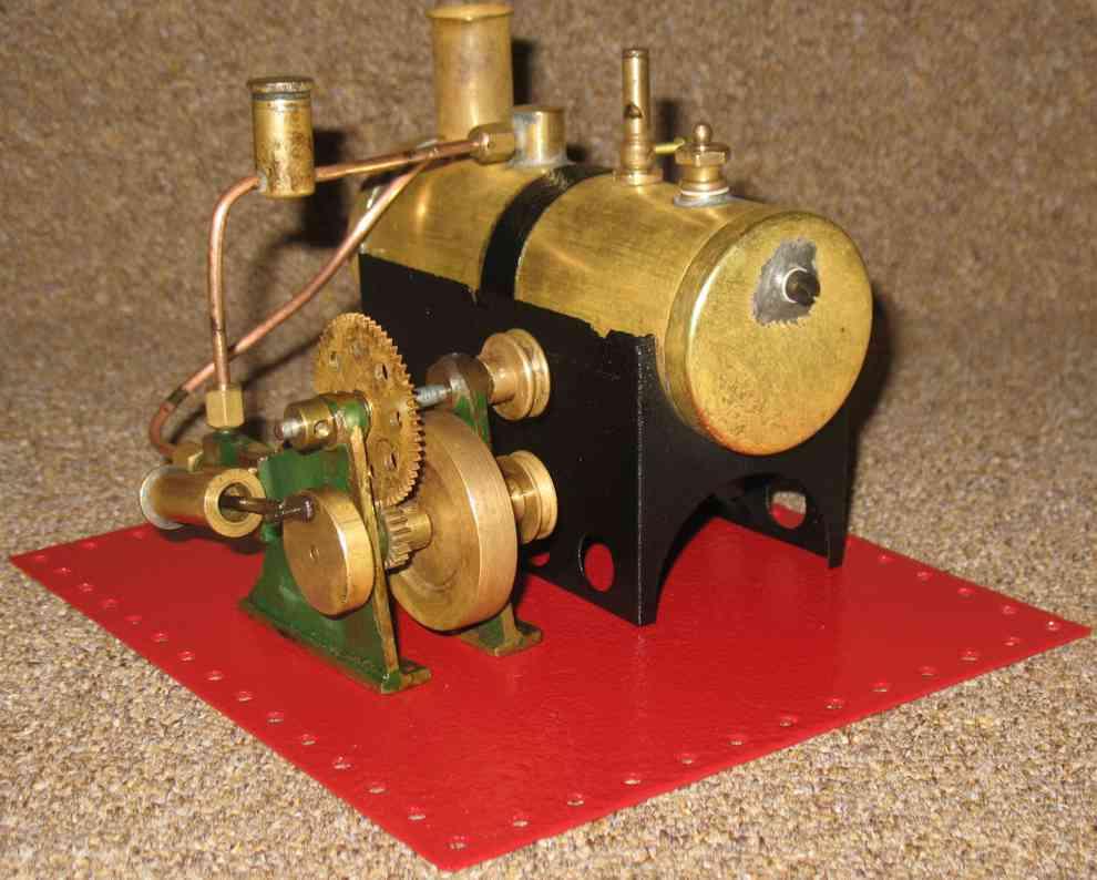 mamod se3 dampfspielzeug liegende dampfmaschine