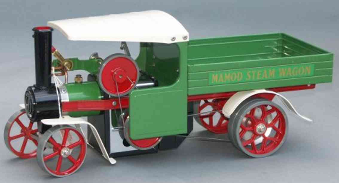 Mamod Steam truck in green with white roof