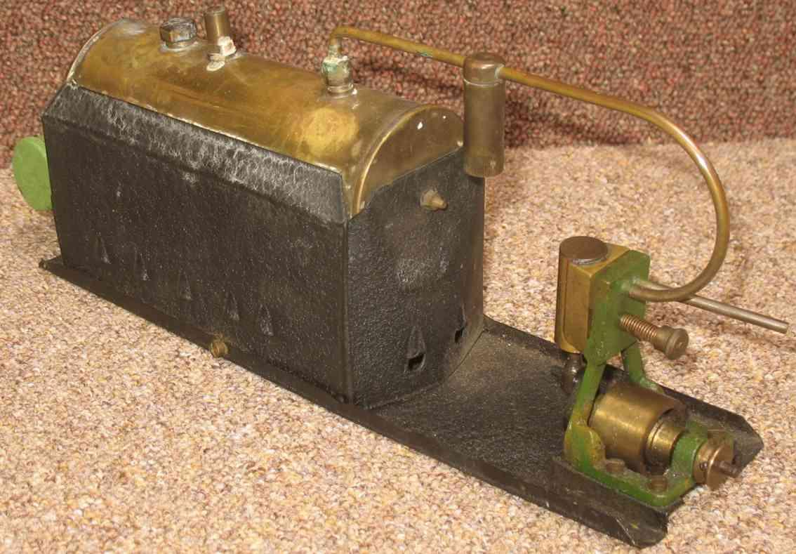midland models trojan horizontal steam toy