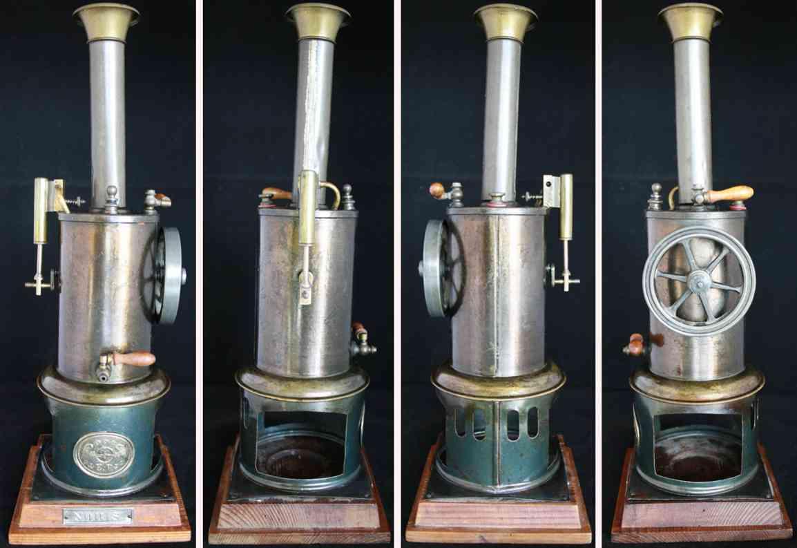 plank ernst 105/3 noris spielzeug stehende dampfmaschine