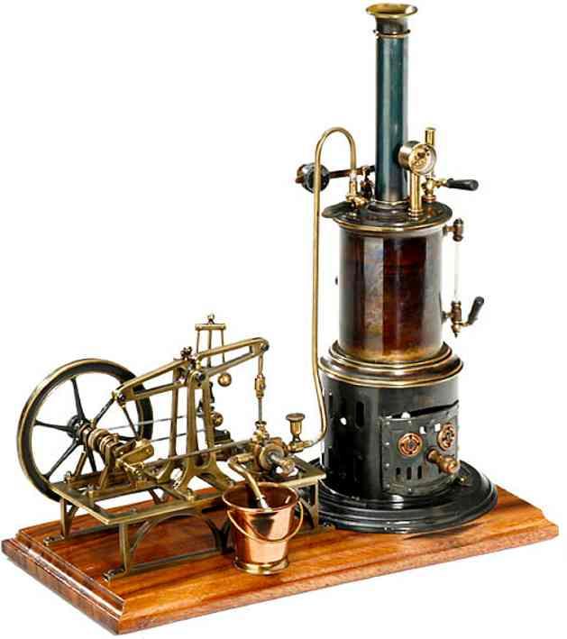 Plank Ernst 106a Stehende Dampfmaschine