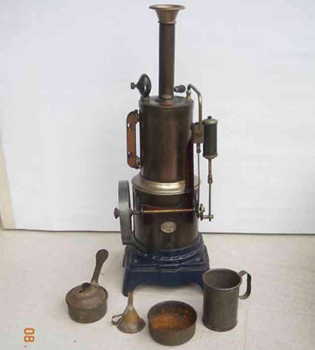 Plank Ernst 114/1 Stehende Dampfmaschine