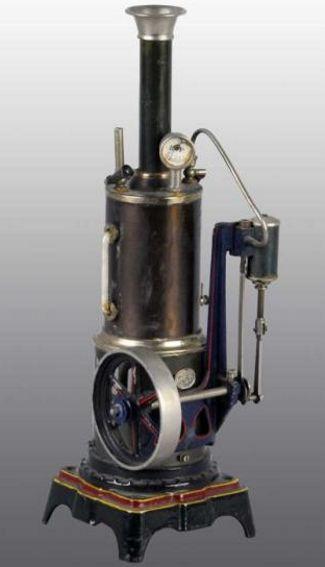 Plank Ernst 115/4 Stehende Dampfmaschine