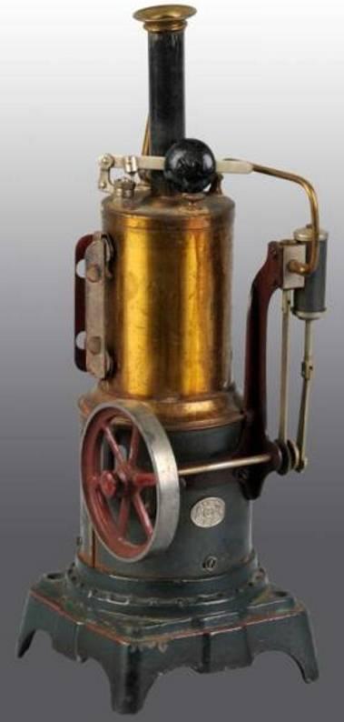 Plank Ernst 118/1 Stehende Dampfmaschine