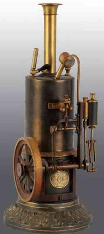 Plank Ernst 160 Stehende Dampfmaschine Ideal