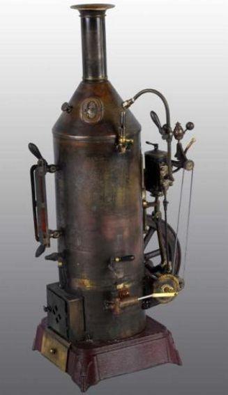 plank ernst 161 dampfspielzeug stehende dampfmaschine excelsior dampfmaschine mit doppel wirkendem stationärem zyl