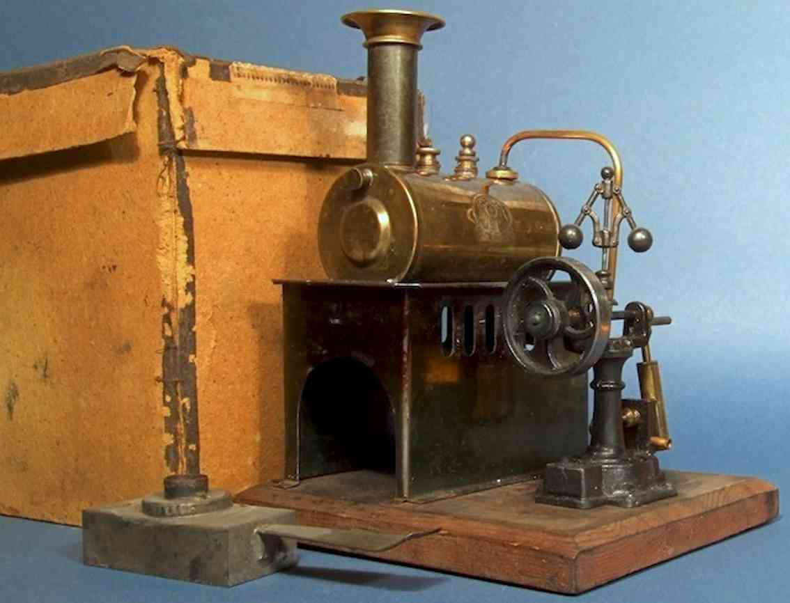 plank ernst 420 steam toy stationary lokomobile