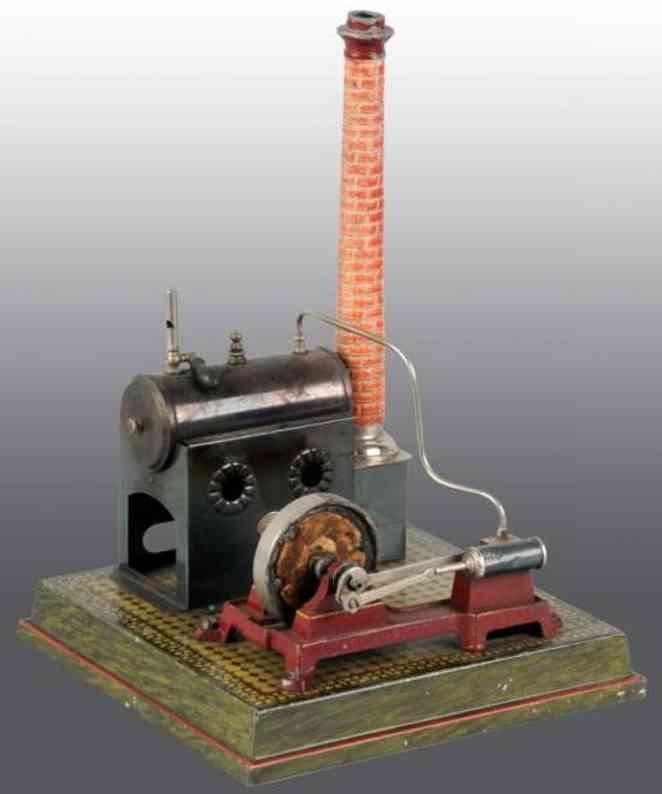 Plank Ernst 425/2 Liegende Dampfmaschine