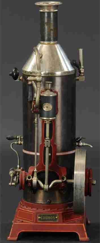 plank ernst dampfspielzeug stehende vertikale dampfmaschine cosmos vertikale