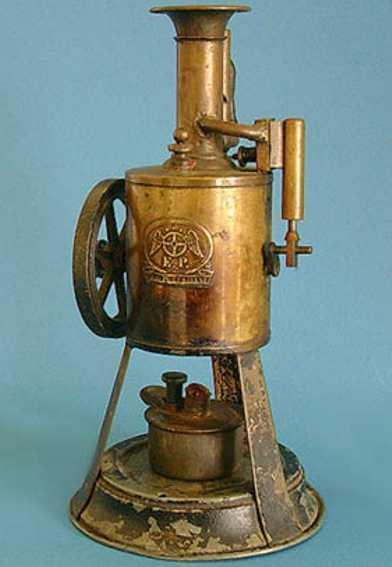 plank ernst dampfspielzeug stehende dampfmaschine dreibein dampfmaschine
