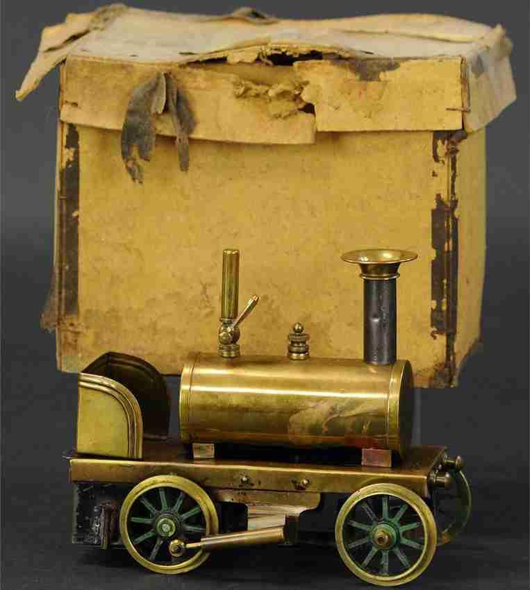 plank ernst Lokomotive dampfspielzeug fahrbare lokomobile spiritus-dampflokomotive, hergestellt von carette für ernst