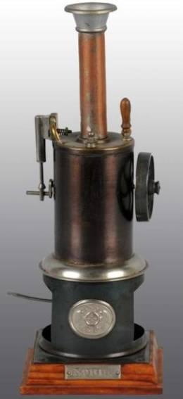 plank ernst 105/1 noris fspielzeug stehende dampfmaschine