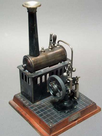 plank ernst 422 dampfspielzeug liegende dampfmaschine rapid