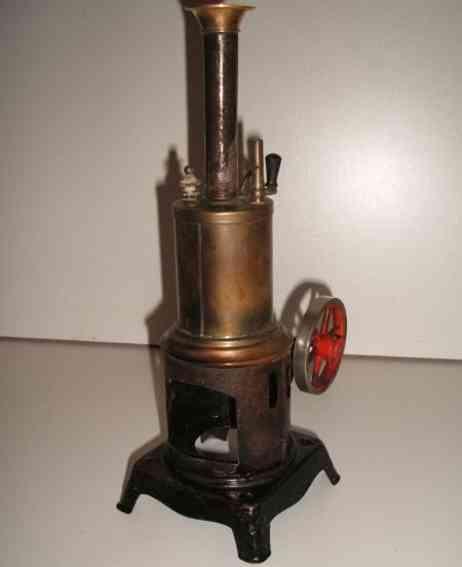 Plank Ernst stehende vertikale Dampfmaschine mit oszillierendem Zylinder
