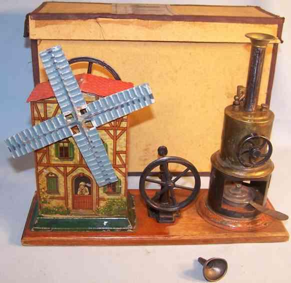 plank ernst dampfspielzeug stehende dampfmaschine windmuehlenhaus