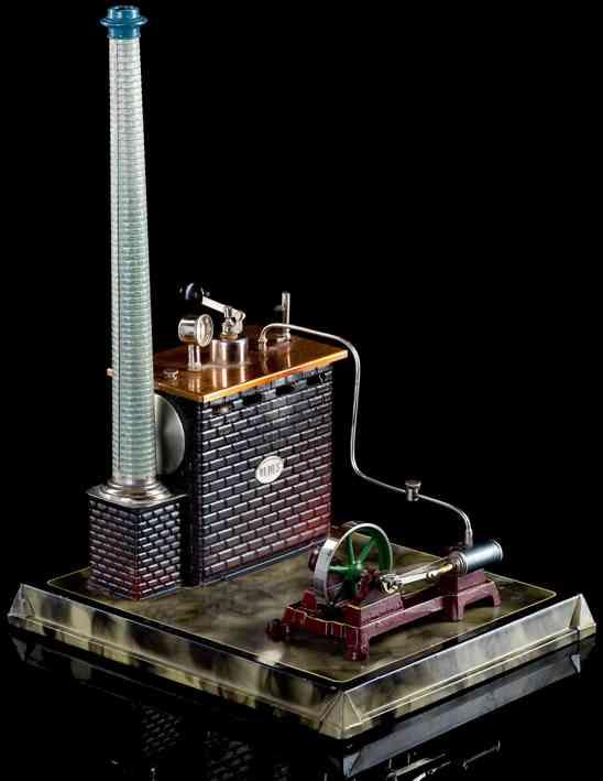 Plank Ernst Liegende Dampfmaschine