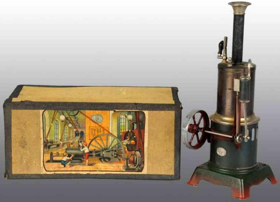 Plank Ernst Stehende Dampfmaschine