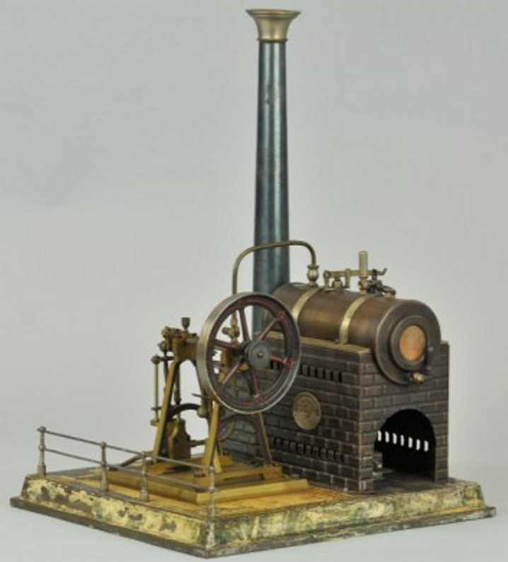 Plank Ernst Stationäre Dampfmaschine