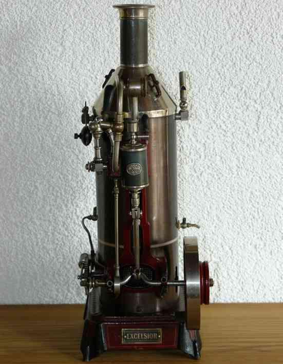 Plank Ernst Excelsior stehende Dampfmaschine