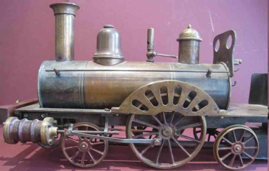 radiguet & massiot dampfspielzeug fahrbare dampflokomotive type 121 a