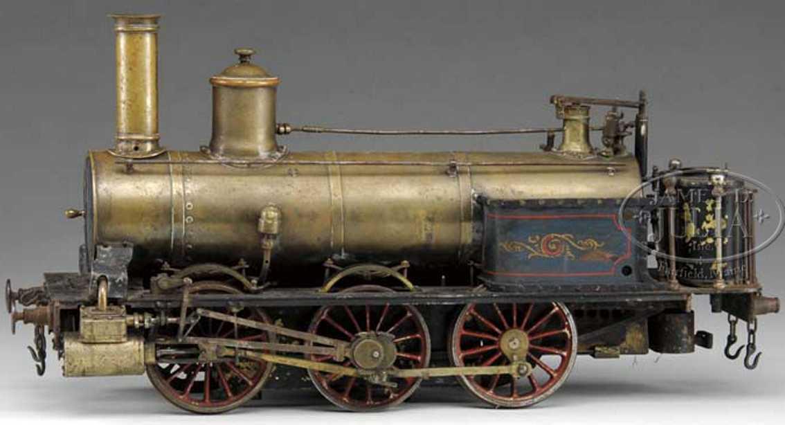 Radiguet & Massiot Fahrbare Lokomobile Echtdampflokomotive
