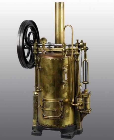 Radiguet & Massiot Senkrechte Dampfmaschine