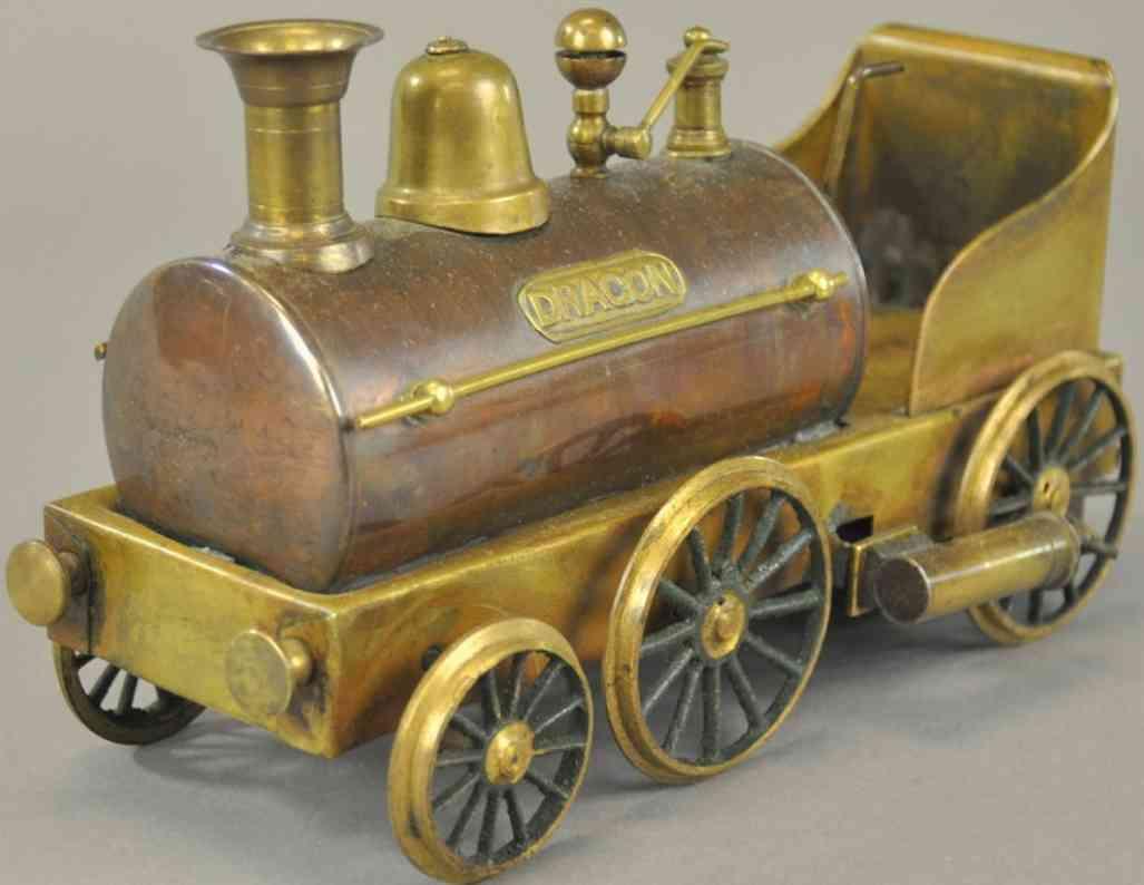 radiguet & massiot dragon dampfspielzeug dampfbetriebenes lokomotive integrierter tender