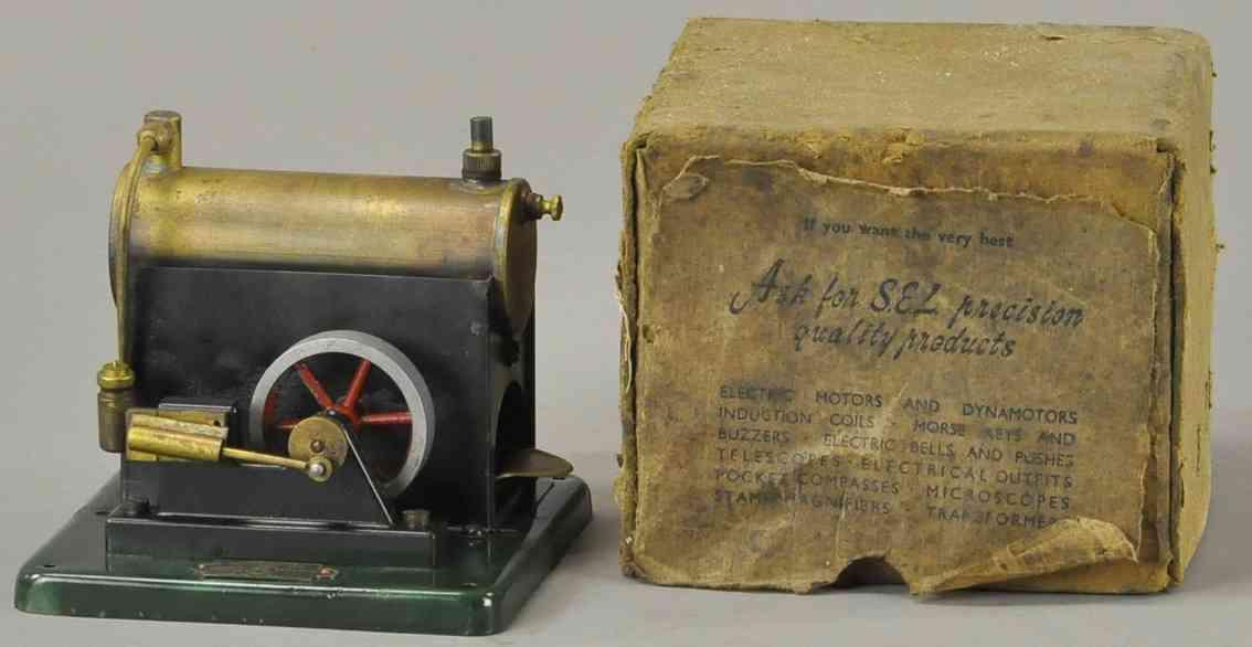 j&l randall ltd 15/40 horizontal steam toy signal equipment small overtype engine