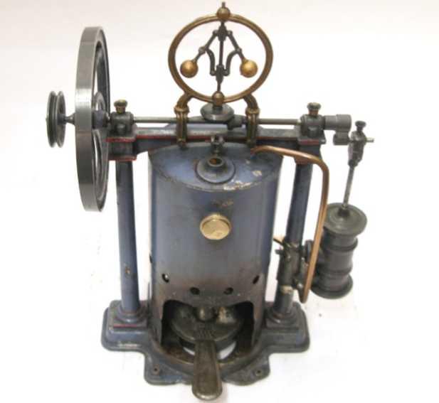 rossignol dampfspielzeug stehende dampfmaschine