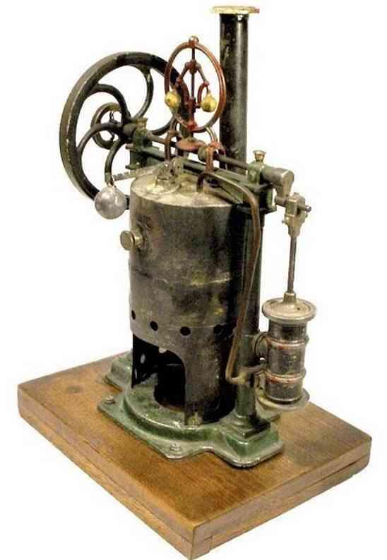 charles rossignol dampfspielzeug stehende dampfmaschine dampfmaschine mit alkoholbrenner. es gibt zwei modelle einma