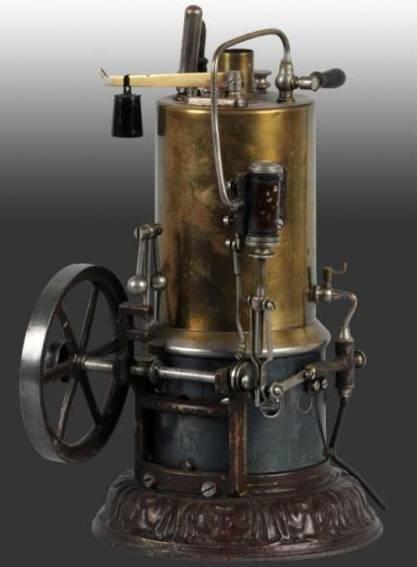 schoenner jean 101/3a dampfspielzeug stehende dampfmaschine phaenomen