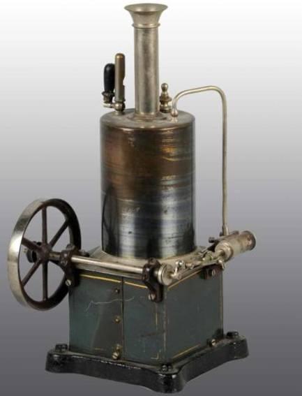 schoenner jean 102/1 dampfspielzeug stehende dampfmaschine dampfmaschine mit horizontamel zylnder befestig an der seite
