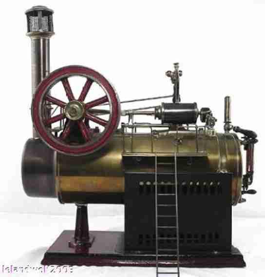 Schoenner 107 Liegende Dampfmaschine