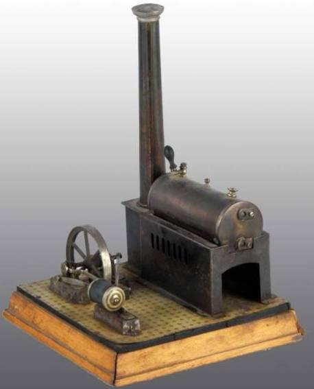 Schoenner 112/3 Liegende Dampfmaschine Vulkan