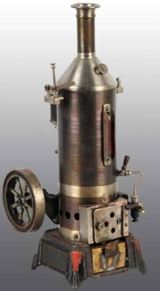 Schoenner 165/2S Stehende Dampfmaschine