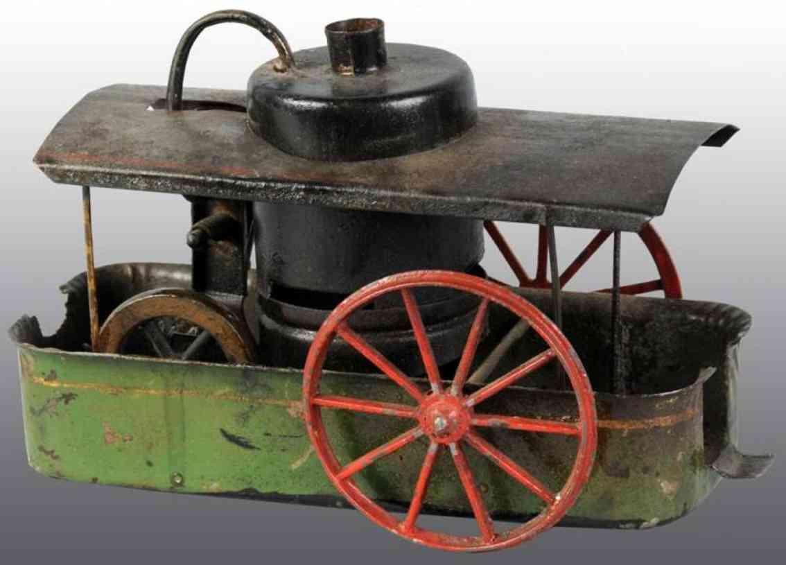 Schoenner Dreirad Dampfwagen