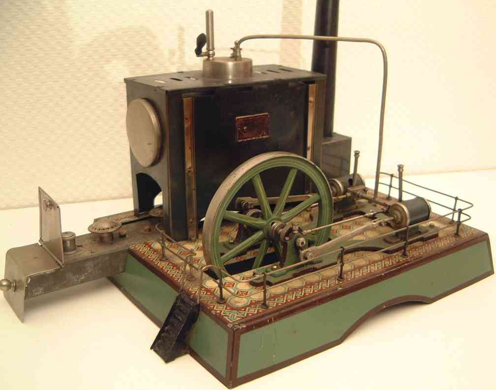 schoenner liegende zweizylinder zwillingsmaschine kd6 kessel